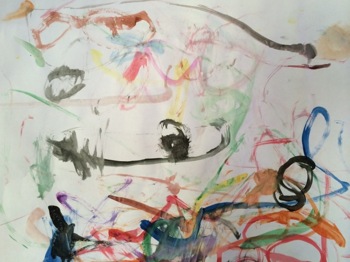 """Meow,"" by Little Girl Pepinsky, March 2014"