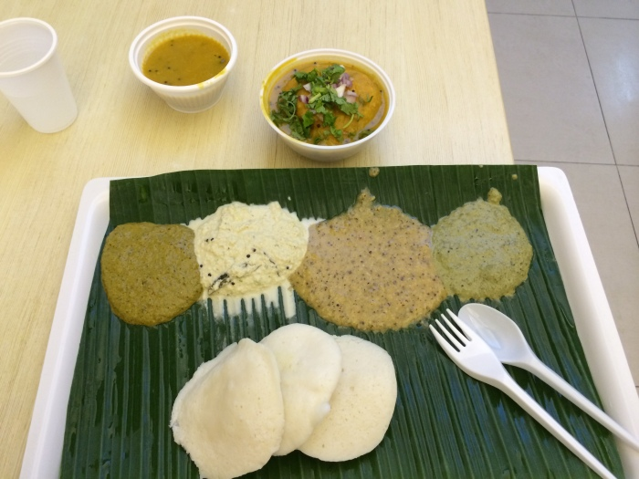 Idli, and a Side of Sambarvadai